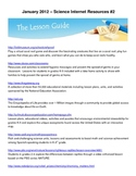 Free Science Teacher and Student Internet Resources 4