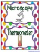 {Free} Science Tools Mini Posters