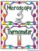 {Free} Science Tools Mini Posters
