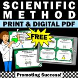 FREE Scientific Method Task Cards, Scientific Method Activities & Games