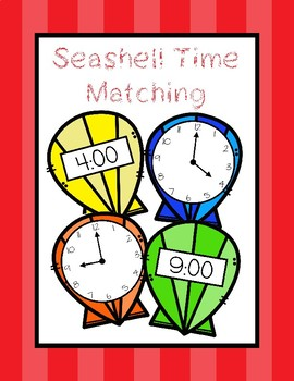 Free Seashell Time Matching