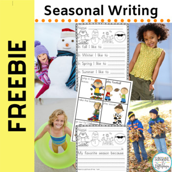 Freebie: Seasonal Writing Frames for K-1