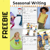 Freebie: Seasonal Writing Frames for K-1