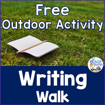 Sensory Writing Walk Activity
