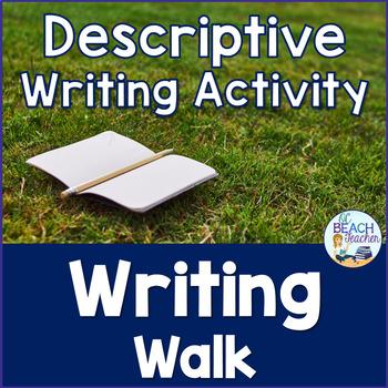 Sensory Writing Walk Activity