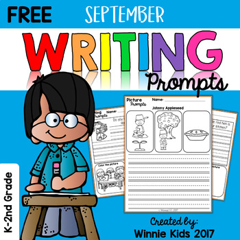 Free September Writing and Picture Prompts