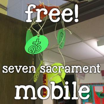 Free!  Seven Catholic Sacrament Mobile
