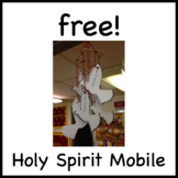 Free! Seven Gifts of the Holy Spirit Mobile Craft - Confirmation, Pentecost