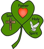 Free Shamrock Craft and Poem about the Trinity by Charlotte's Clips