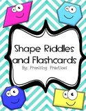 Free Shape Lesson: Flashcard Riddles, Vocabulary, and Stud