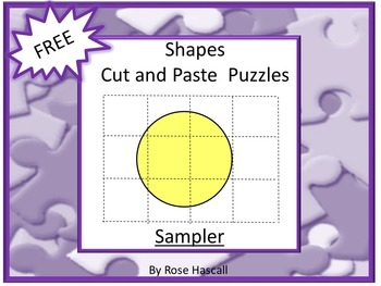 Free-Shapes Cut and Paste Puzzles Sampler