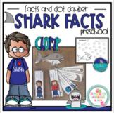 Free Shark Facts and Dot Dauber Sheets