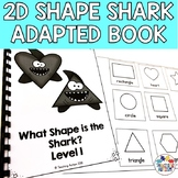 Free Shark Shape Adapted Book Shark Week