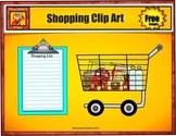 Free Shopping Cart and Grocery List from Charlotte's Clips