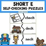Free Short E Self-Checking Puzzles!