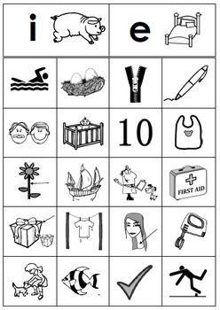 Free Short Vowel Picture Sorting Center Sample Literacy Center