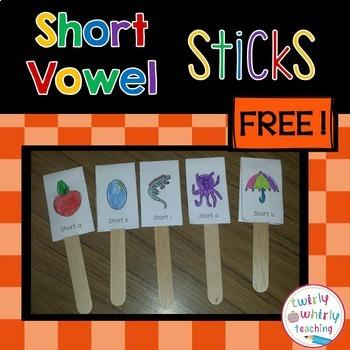 Short Vowel Sticks