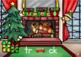 Christmas Elf Short Vowels Digital Task Cards Freebie