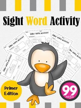 Free Sight Word Activity ( Primer )