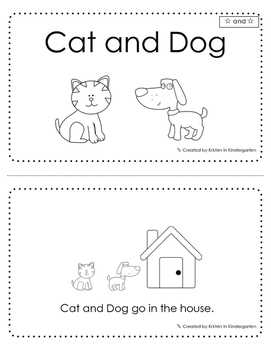 "Free Sight Word Emergent Reader - ""and"""