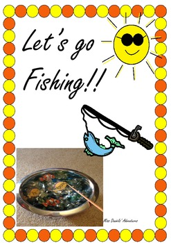 Free Sight Word Fishing Activity