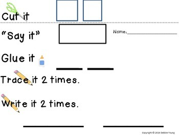 Free Sight Word Interactive Practice