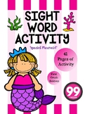 Free Sight Word Activity ( First Grade )