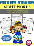 Free Sight Words Activities ( Kindergarten )