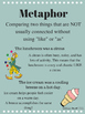 Free Simile, Metaphor, Idiom, and Personification Posters