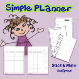 Free Simple Planner
