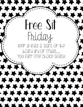 Free Sit Friday