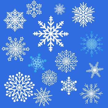 Free Snowflakes Clip Art