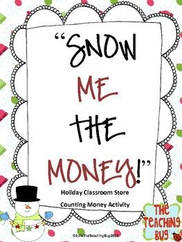 Free Snowman Classroom Store Holiday Activity