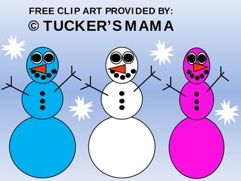 Free Snowman Clip Art