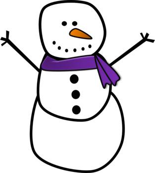 Free Winter Snowman Clipart
