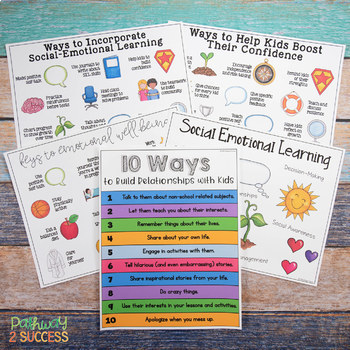 Free Social Emotional Learning Visuals