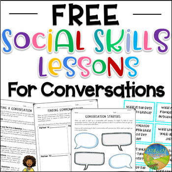 Free Social Skills Lessons for Conversations