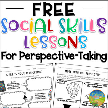 Free Social Skills Lessons for Perspective-Taking