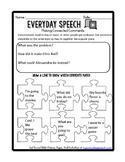 Free Social Skills Video Companion Worksheets