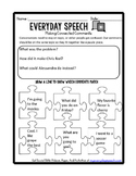 Free Social Skills Video Companion Worksheets