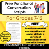 Conversation Skills for Middle School High School | Distance Learning | Speech