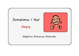 Free Social Story ~When I am Angry (Simple)