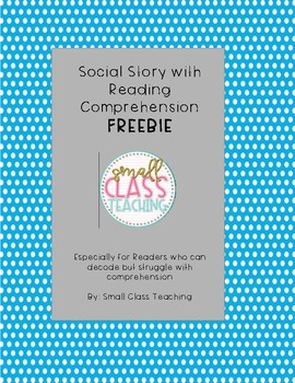 Free Social Story for Reading Comprehension