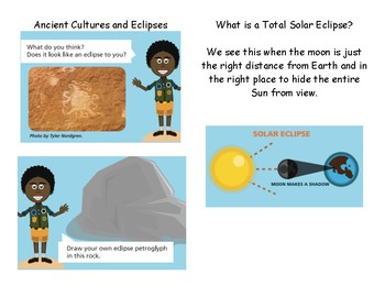 Free Solar Eclipse Book for Primary Grade Students