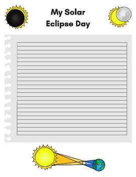 Free Solar Eclipse Journal