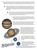 Free Solar System Poster