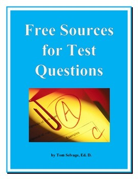 Free Sources for Test Questions