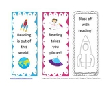 Free Space Theme Bookmarks