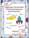 Free Sampler Outer Space Math Worksheets Ordering Numbers Ordinal Numbers