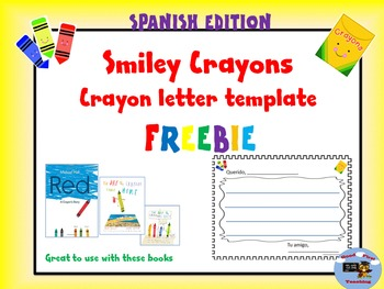 Free Spanish Letter to Crayon Template